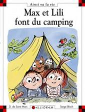 Ainsi va la vie (Bloch) -102- Max et Lili font du camping