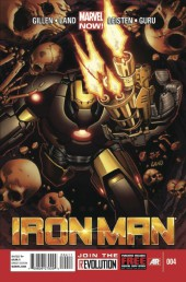 Iron Man (2013) -4- Believe 4/5: Fear Of The Void