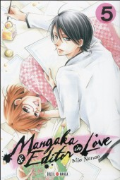 Mangaka & Editor in Love -5- Tome 5