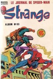 Strange -Rec063- Album N°63 (du n°188 au n°190)