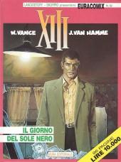 XIII (en italien) -1- Il giorno del sole nero