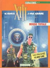 XIII (en italien) -2- Rosso totale