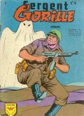 Sergent Gorille -7- le fantome, la vache et le sergent