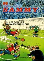 Sammy -14a1985- Les gorilles marquent un but