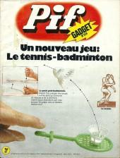 Pif (Gadget) -254- Autant en emporte le vent