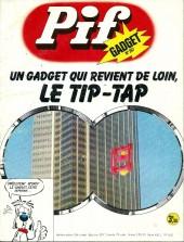 Pif (Gadget) -267- La pendule