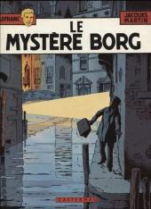 Lefranc -3d1982- Le mystère Borg