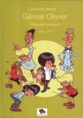 Génial Olivier -INT05- Intégrale volume 5 : 1976-1977