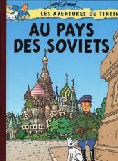 Tintin - Pastiches, parodies & pirates -4b- Les aventures de Tintin au pays des soviets.