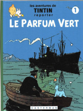 Tintin - Pastiches, parodies & pirates -36- le parfum vert - tome 1