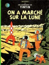 Tintin (Historique) -17B40- On a marché sur la lune