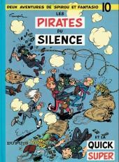 Spirou et Fantasio -10e87- Les pirates du silence