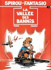Spirou et Fantasio -41b04- La vallée des bannis