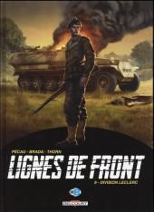 Lignes de front (Pécau) -9- Division Leclerc