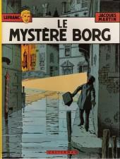 Lefranc -3d1980- Le mystère Borg