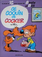 Boule et Bill -12c82- Ce coquin de cocker
