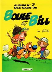 Boule et Bill -7e84a- Album N° 7 des gags de Boule et Bill