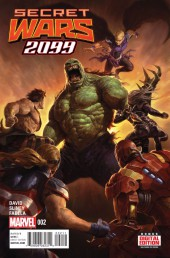 Secret Wars 2099 (2015) -2- Issue #2