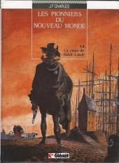 Les pionniers du Nouveau Monde -4a90- La croix de Saint-Louis