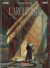 Les cités obscures -H02'- L'archiviste