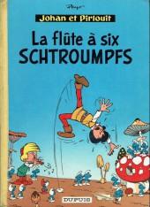 Johan et Pirlouit -9a63- La flûte à six schtroumpfs