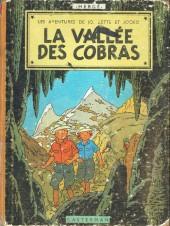 Jo, Zette et Jocko (Les Aventures de) -5B24- La vallée des cobras
