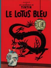 Tintin (Historique) -5B38- Le lotus bleu