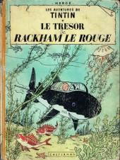 Tintin (Historique) -12B13- Le trésor de rackham le rouge