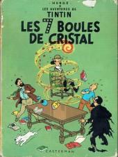 Tintin (Historique) -13B35bis- Les 7 boules de cristal