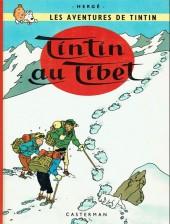 Tintin (Historique) -20C6- Tintin au tibet