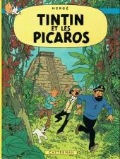 Tintin (Historique) -23C4- Tintin et les picaros
