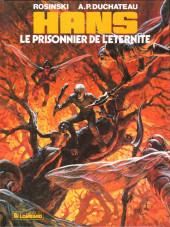 Hans (Duchâteau) -2- Le prisonnier de l'éternité