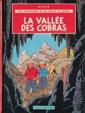 Jo, Zette et Jocko (Les Aventures de) -5C4- La vallée des cobras