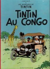 Tintin (Historique) -2B25- Tintin au congo
