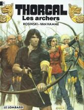 Thorgal -9b95- Les archers