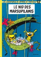 Spirou et Fantasio -12h10- Le nid des Marsupilamis