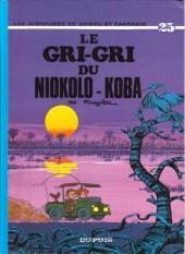 Spirou et Fantasio -25e98- Le gri-gri du Niokolo-Koba
