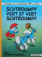 Les schtroumpfs -9b1981- Schtroumpf vert et vert schtroumpf
