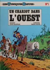 Les tuniques Bleues -1d84- Un chariot dans l'ouest