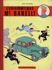 Barelli -1- L'énigmatique Mr Barelli