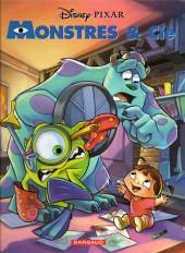 Les classiques du dessin animé en bande dessinée -39- Monstres & Cie