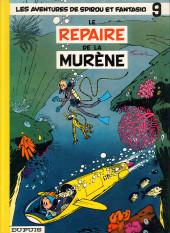 Spirou et Fantasio -9d84- Le repaire de la murène