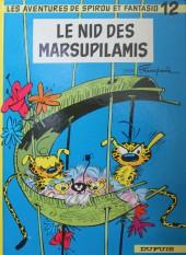 Spirou et Fantasio -12d84- Le nid des Marsupilamis