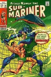 Sub-Mariner Vol.1 (Marvel - 1968) -10- Never Bother A Barracuda!