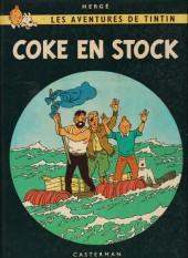 Tintin (Historique) -19B35- Coke en stock
