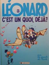 Léonard -3c1986- Léonard, c'est un quoi, déjà ?