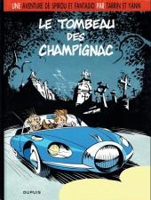Spirou et Fantasio (Une aventure de.../Le Spirou de...) -3a2008- Le tombeau des Champignac