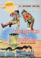 Kozakovich & Connors (I Giganti dell'avventura) -1- Kozakovich & Connors 1