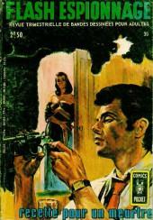 Flash espionnage (1re série - Arédit) -30- Recette pour un meurtre