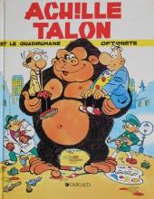 Achille Talon -15b84- Achille Talon et le quadrumane optimiste